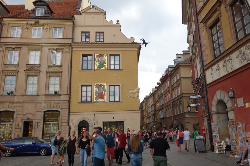 Gamla staden, Warszawa.