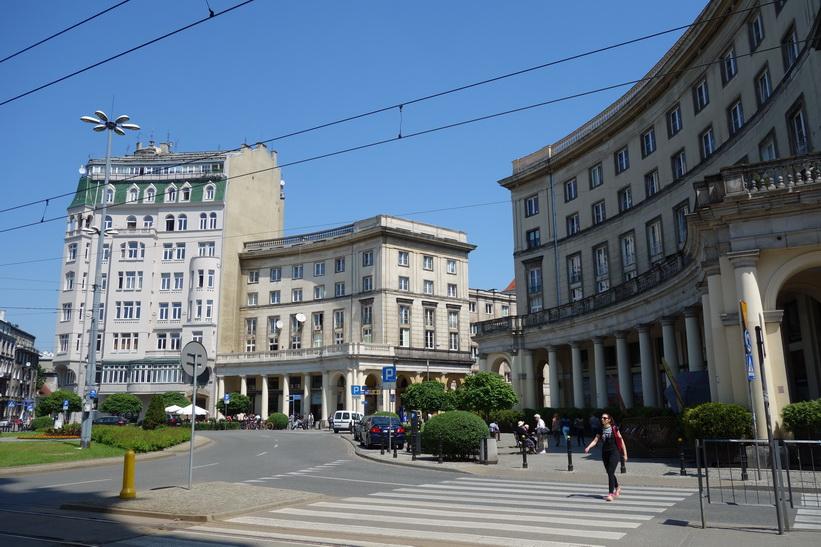 Plac Zbawiciela, Warszawa.