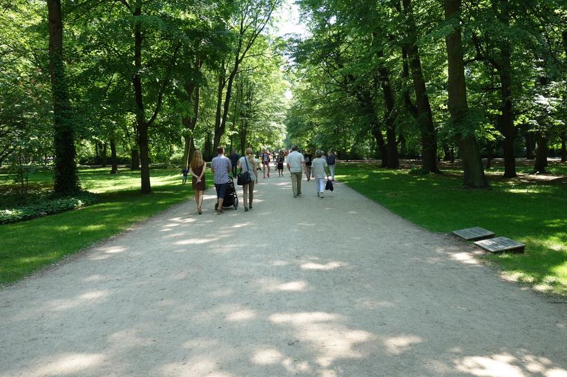 Łazienki Park, Warszawa