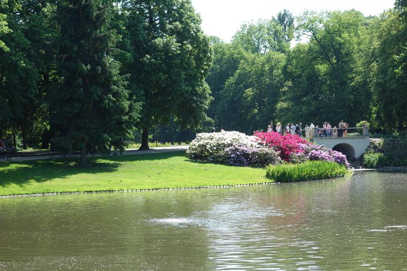 Łazienki Park, Warszawa.