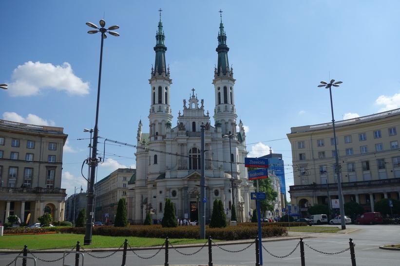 Church of the holy redeemer, Plac Zbawiciela, Warszawa.
