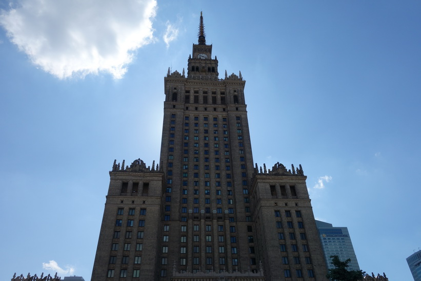 Palace of Culture and Science, Warszawa.