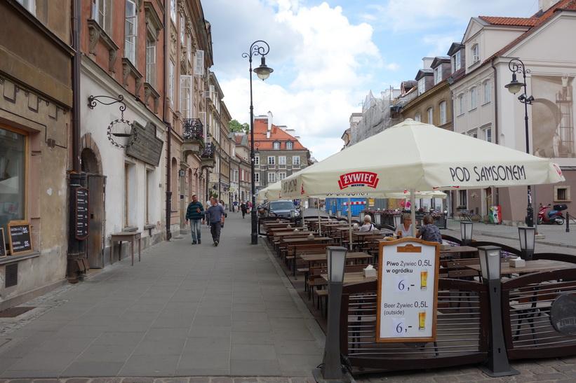 Restauracja Pod Samsonem, Warszawa.