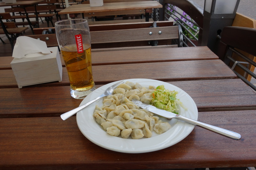 Lunch på Restauracja Pod Samsonem, Warszawa.