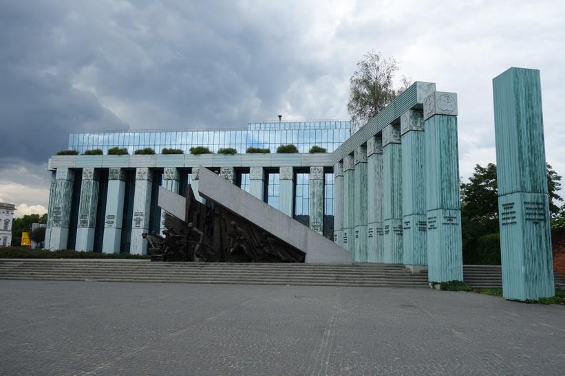 Monument to the Warsaw Rising, Warszawa.