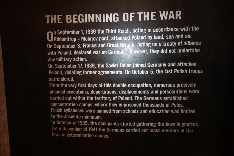 Warsaw Rising Museum, Warszawa.