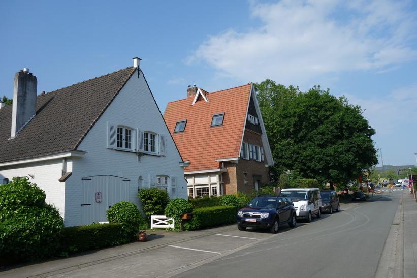 Villaområde i utkanten av Brygge.