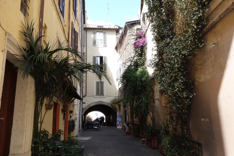 Arkitektur i centrala Rom.