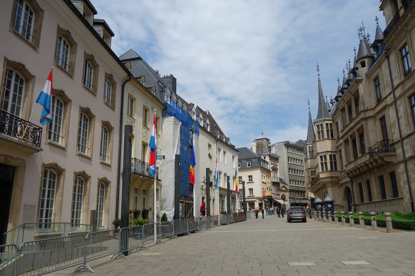 Palais Grand Ducal, Luxemburg city.