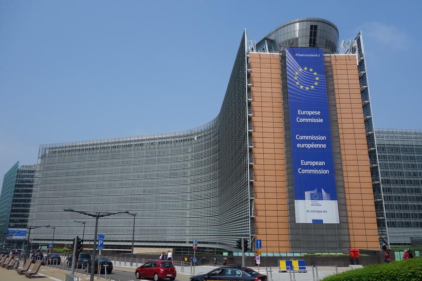 EU-kommissionen, EU-området, Bryssel.