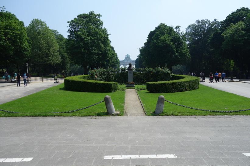 Parc du Cinquantenaire (Jubelpark), EU-området, Bryssel.