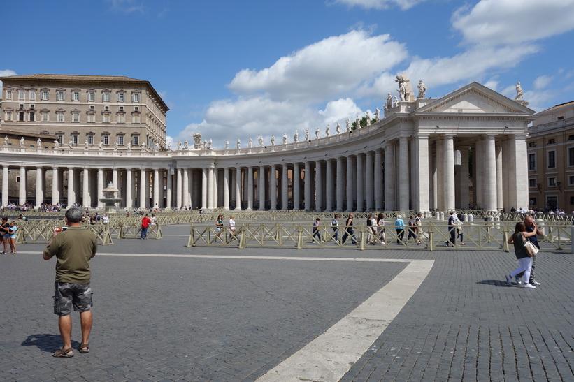 Petersplatsen, Vatikanstaten, Rom.