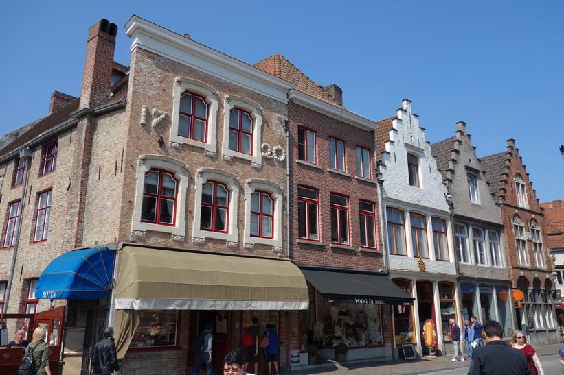 Arkitekturen i centrala Brygge.