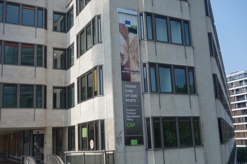 Administrativ EU-byggnad, EU-området, Bryssel.