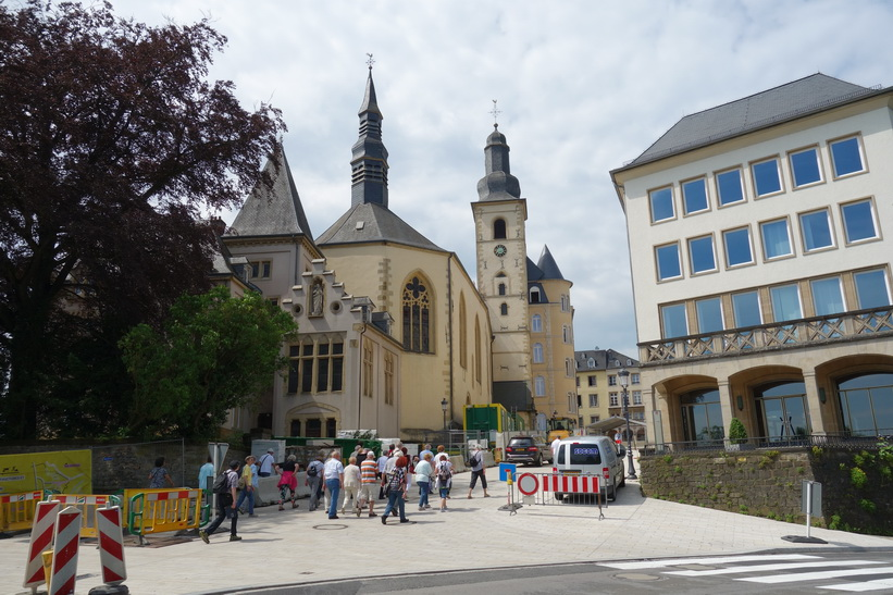 St Michael's Church, Luxemburg city.