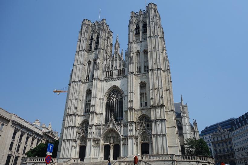 St. Michael och St. Gudula katedralen, Bryssel.
