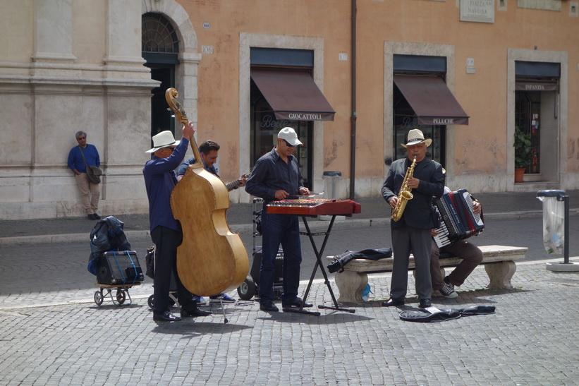 Torget Piazza Navona, Rom.
