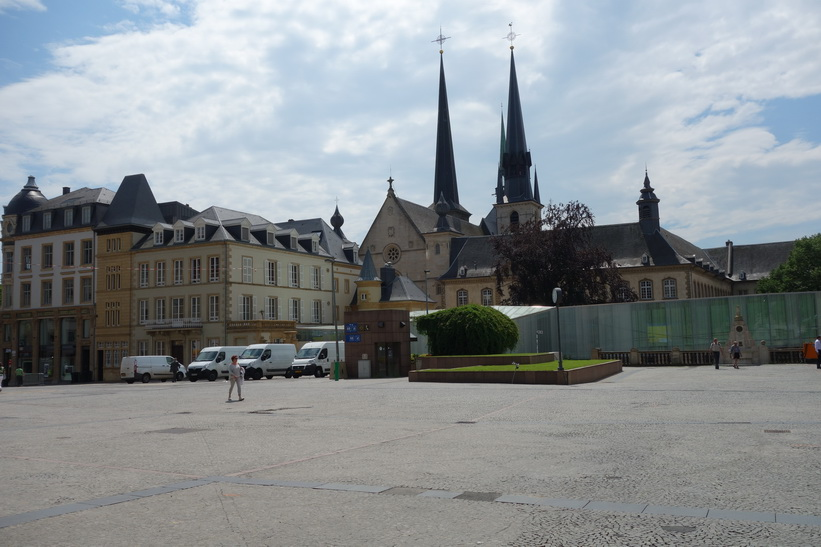 Place Guillaume II, Luxemburg city.