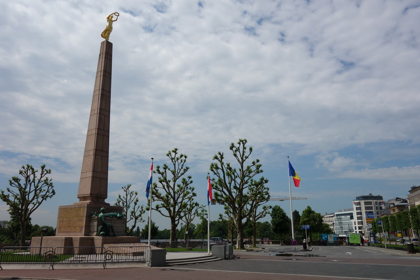Monument of Remembrance, Place de la Constitution, Luxemburg City.