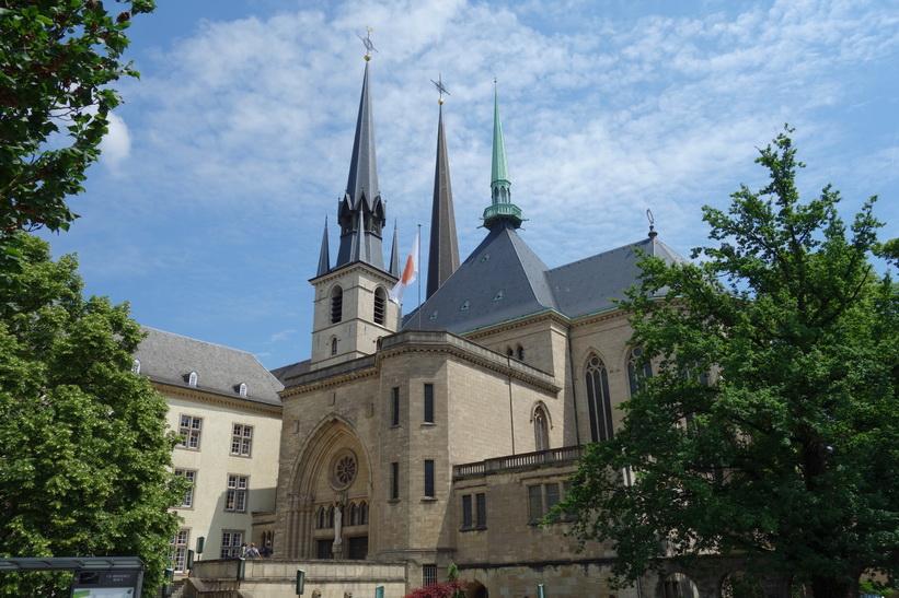 Cathédrale Notre-Dame, Luxemburg city.