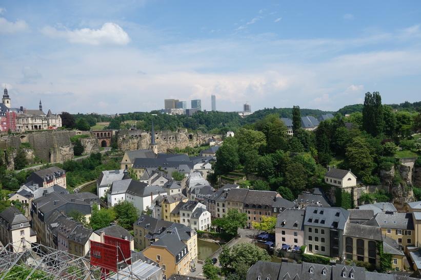 Chemin de la Corniche, Luxemburg city.