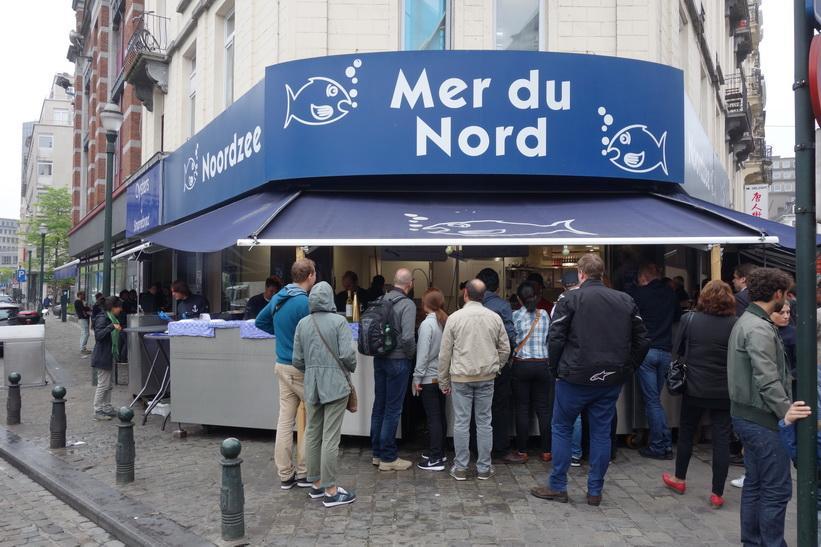 Fiskrestaurang Mer du Nord, Bryssel.