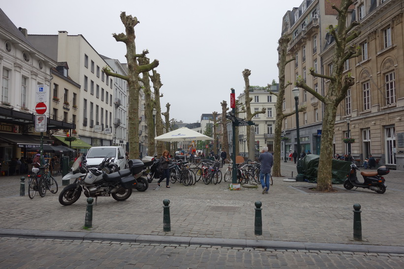 Place Sainte-Catherine, Bryssel.