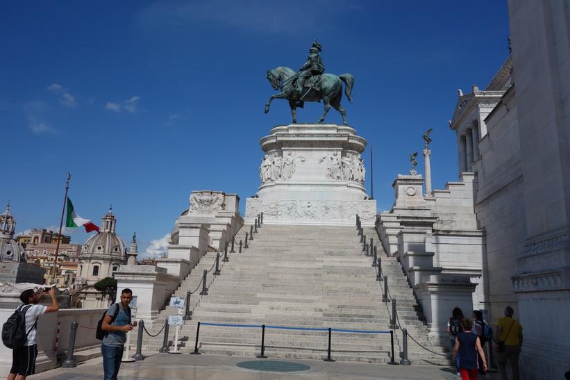 Altare della Patria, även känt som Monumento Nazionale a Vittorio Emanuele II, Rom.