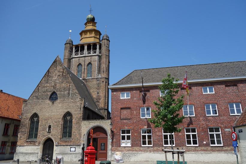 Jeruzalemkerk, en av Brygges allra äldsta kyrkor.