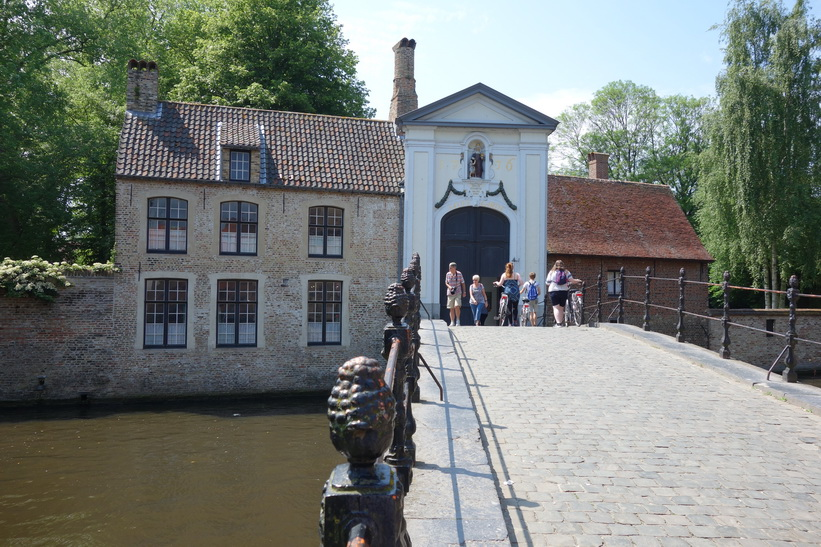 The Beguinage (Begijnhof), Brygge.