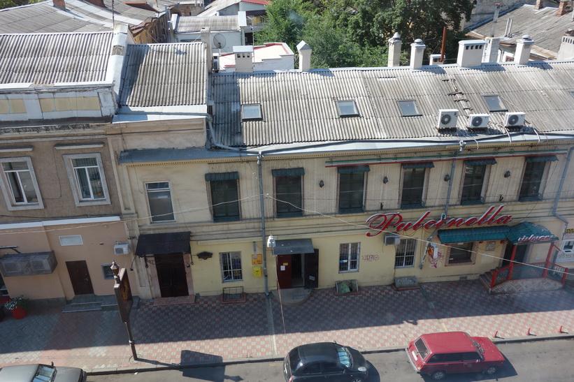 Utsikten från fönstret på DRK Residence, Odessa.