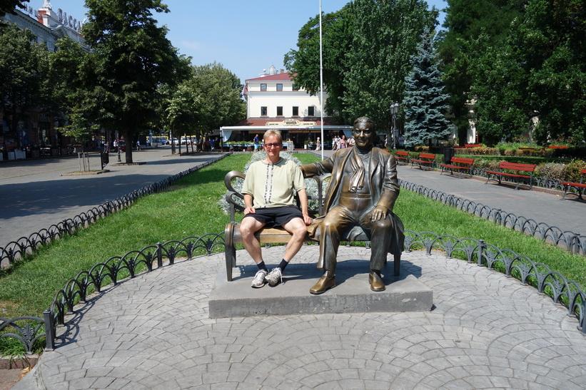 Stefan i City Garden, Odessa.