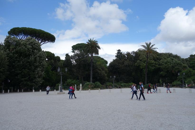 Parken Villa Borghese, Rom.