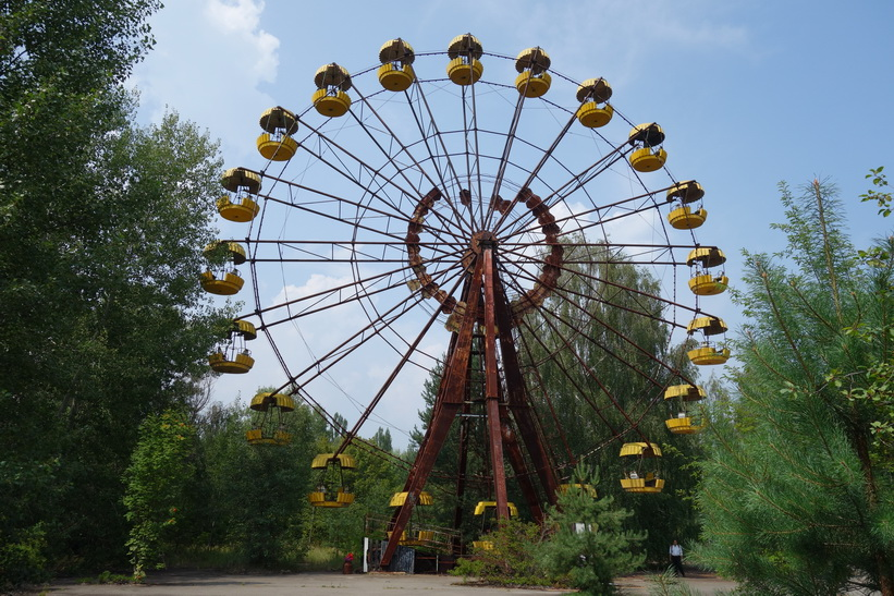 Nöjesparken i Pripyat som bara hade öppet en dag innan staden evakuerades!
