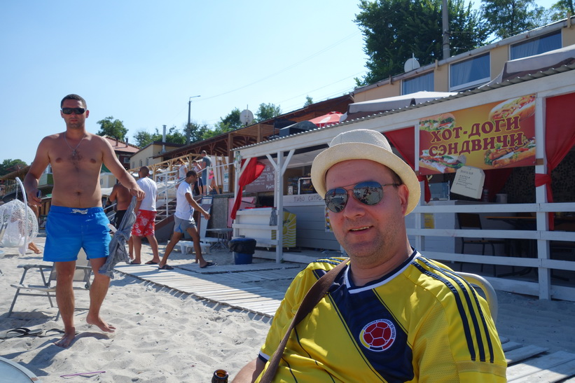 Pähr på Otrada beach, Odessa.