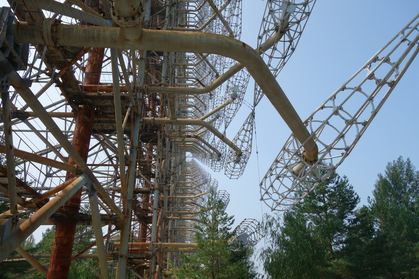 The Russian Woodpecker.