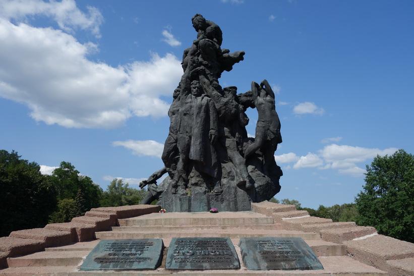 Babij Jar, Kiev.