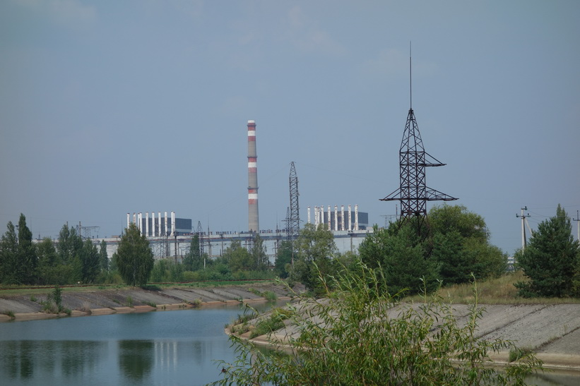 Reaktor 1 och 2, kärnkraftverket i Tjernobyl.