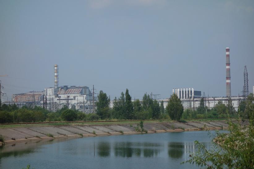 Reaktor 1-4 i bild, Tjernobyl.