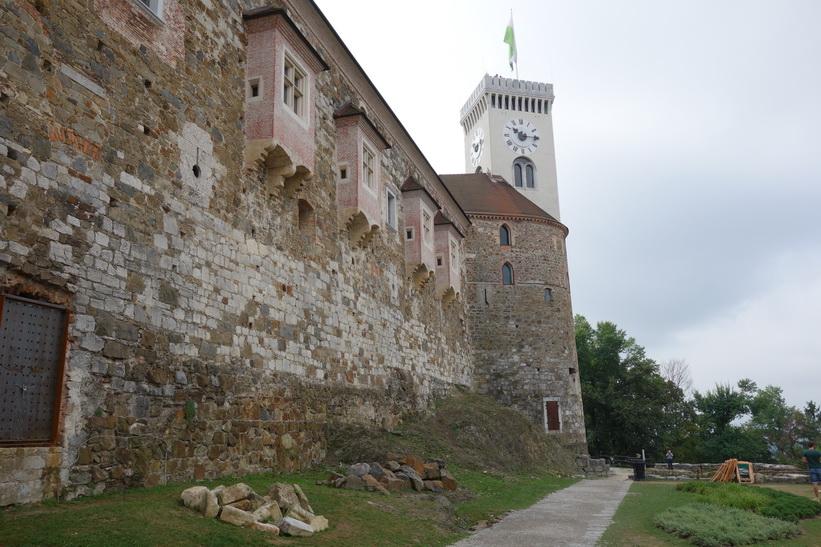 Ljubljana Castle, Ljubljana.