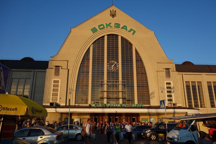 Centralstaionen i Kiev.
