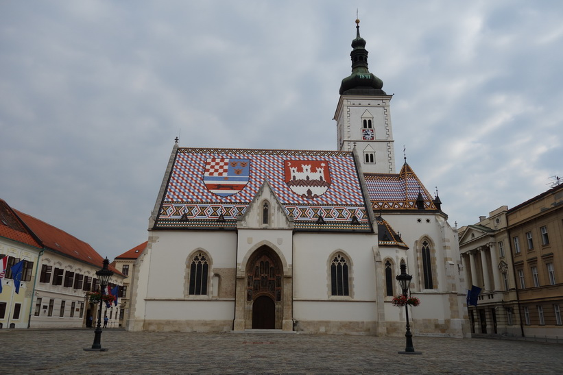 Sankt Markus kyrka, Zagreb.