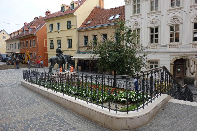Arkitektur i centrala Zagreb.
