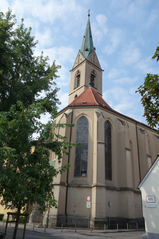 St. Francis church, Zagreb.