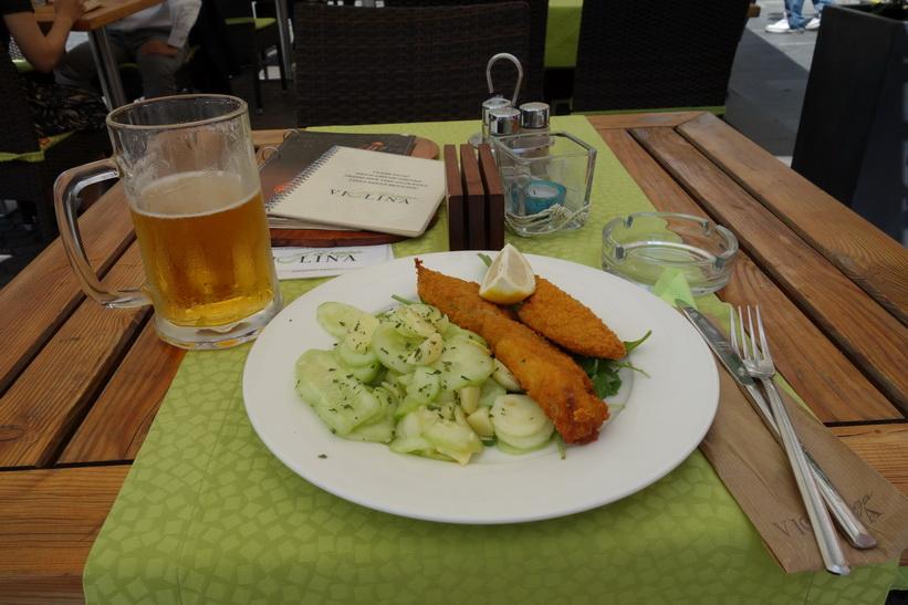 Restaurang Druga Violina, Ljubljana.