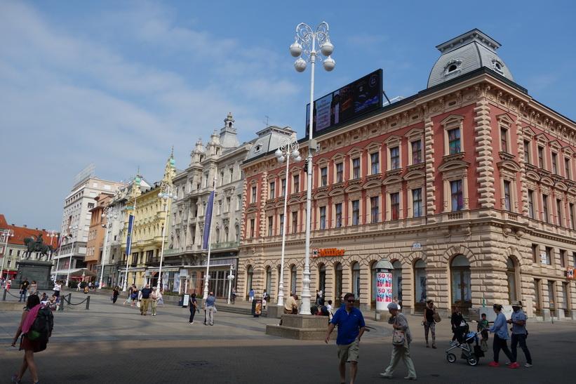 Torget Trg J. Jelačića, Zagreb.
