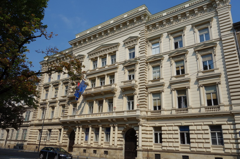 Supreme Court of Croatia, Zagreb.