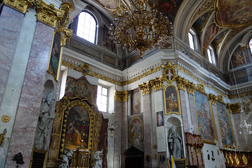 Saint Nicholas Cathedral, Ljubljana.