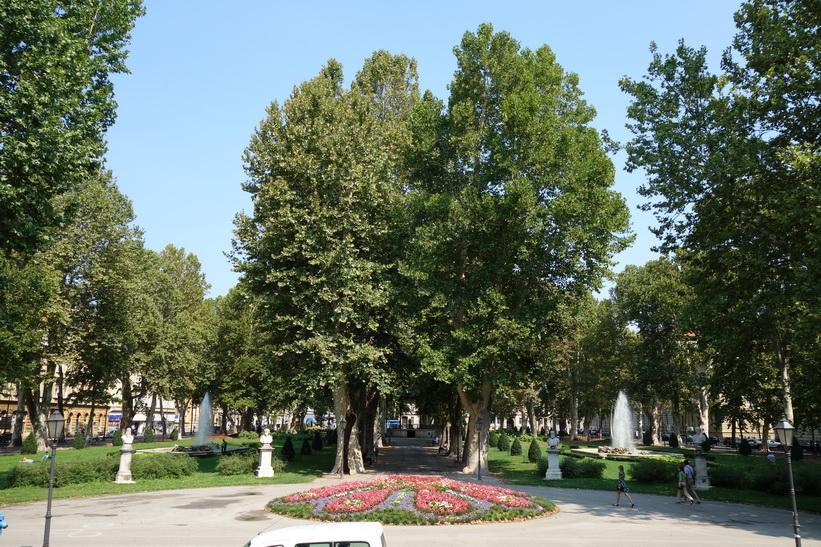Park Zrinjevac, Zagreb.