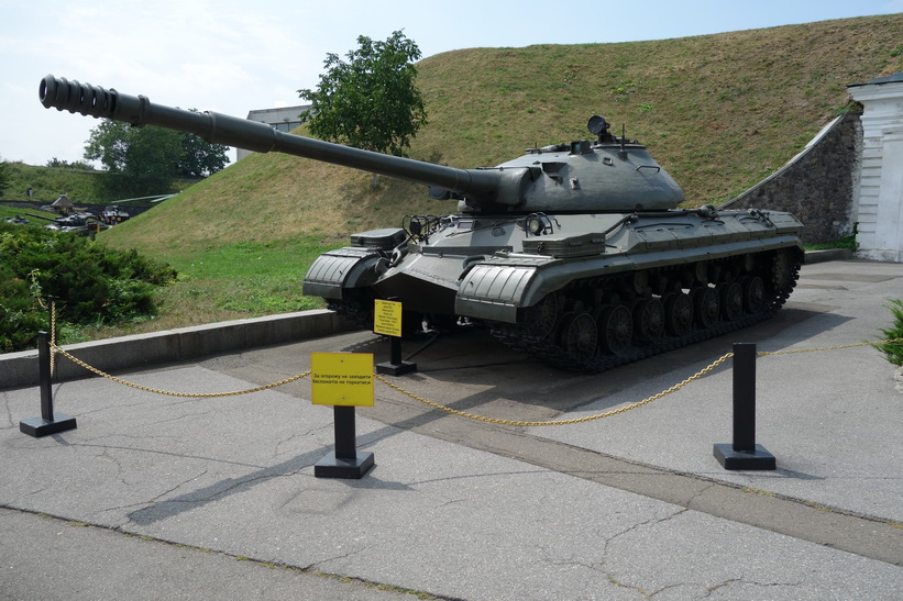 Pansarvagn, Great Patriotic War Museum, Kyiv.